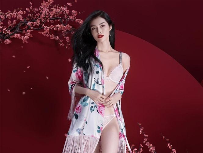 Người mẫu nội y gốc Hoa da trắng eo thon dáng nuột nà - ảnh 4