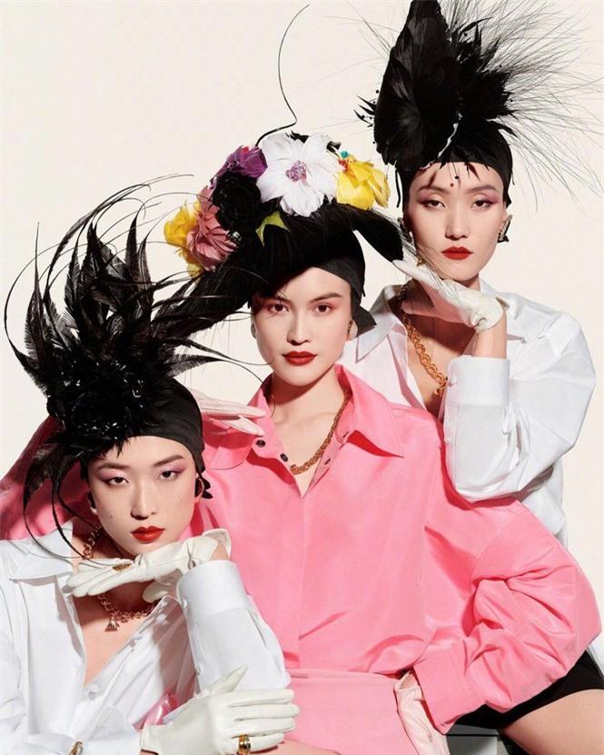 Người mẫu nội y gốc Hoa da trắng eo thon dáng nuột nà - ảnh 9