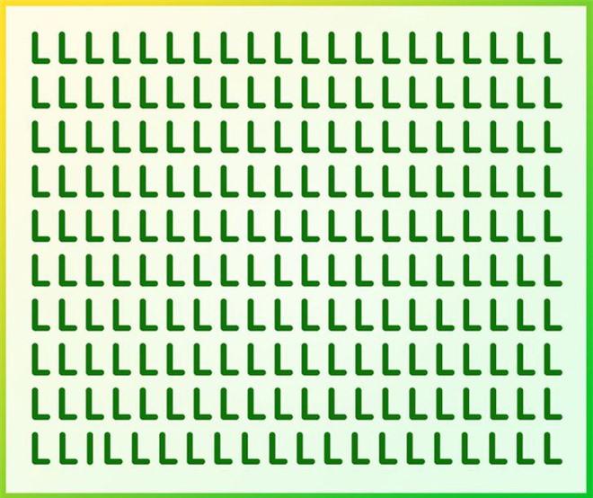 Thách thức thị giác 2 giây: Bạn có đủ tinh mắt để nhìn ra ngay một chữ cái lạc loài? - Ảnh 1.