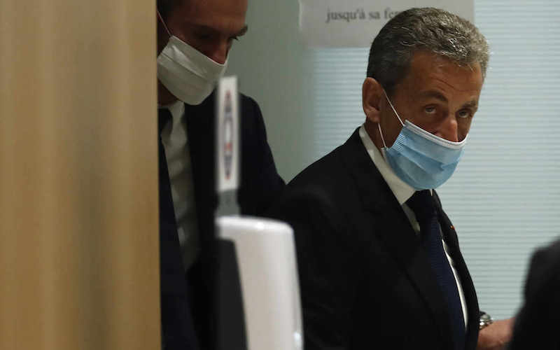 Cựu Tổng thống Nicolas Sarkozy. (Ảnh AP)