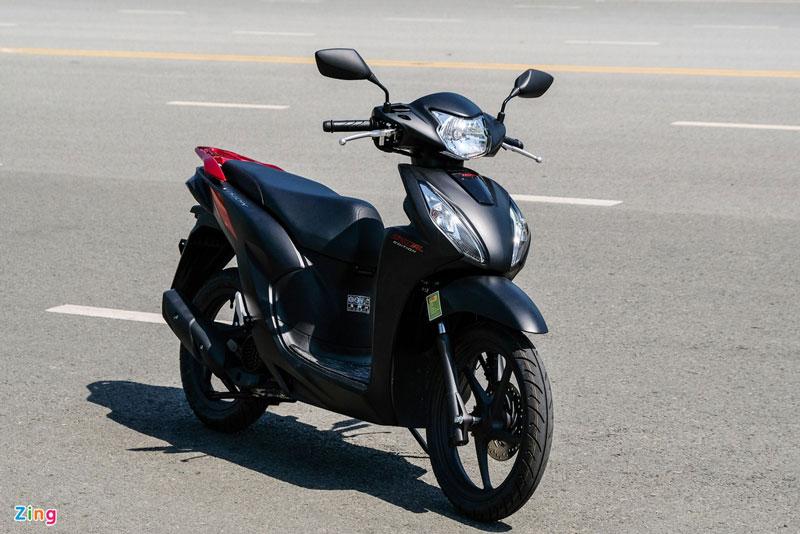 Honda Vision bản Cá tính.