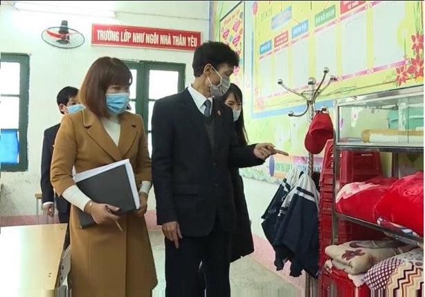 Phù Ninh: Khử khuẩn, tẩy trùng trong trường học ít nhất 1 lần/ngày để chống dịch