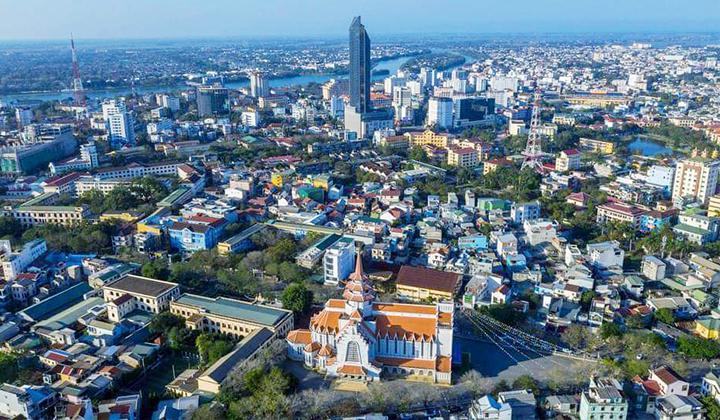 Một góc thành phố Huế.