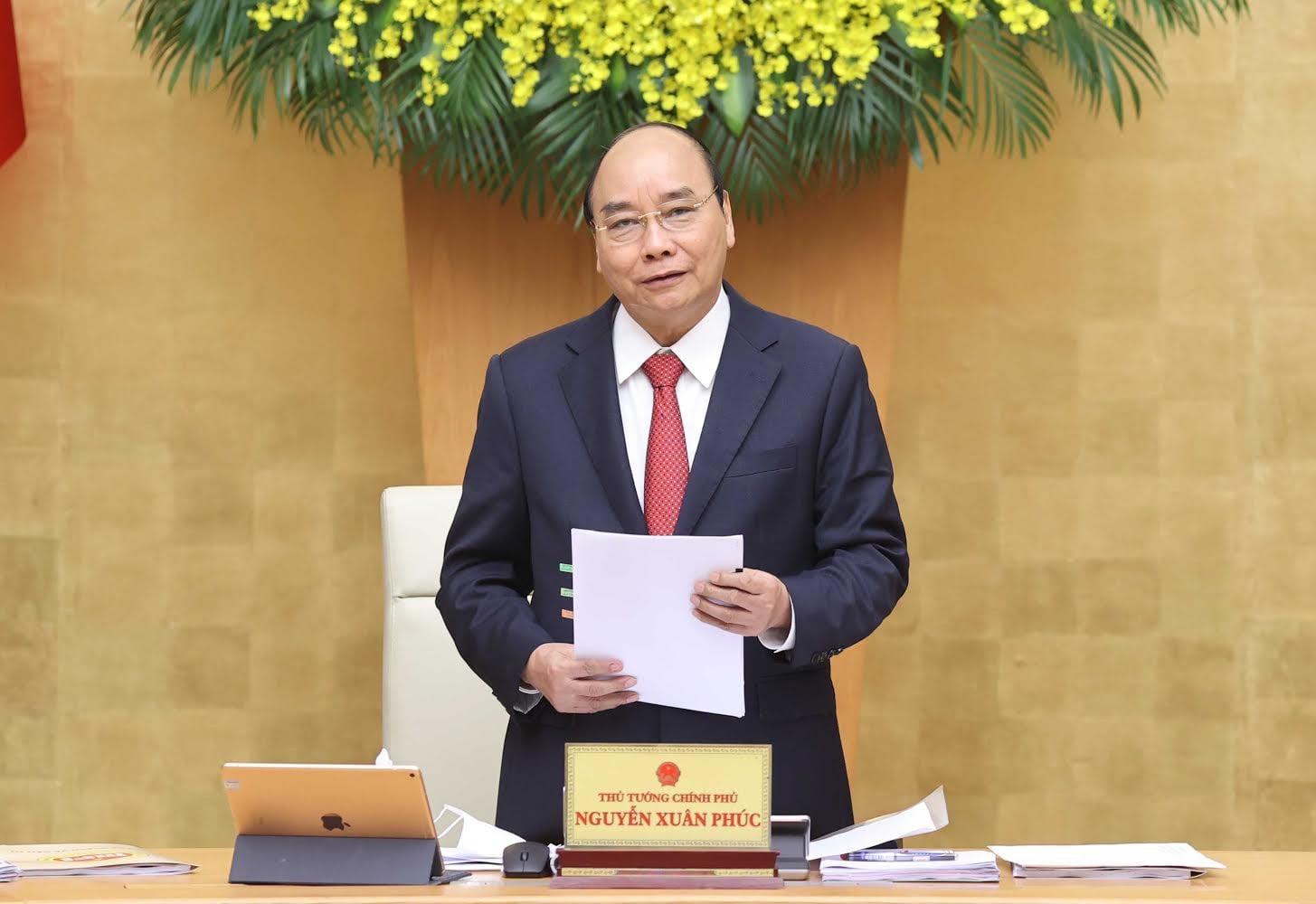 Thủ tướng Chính phủ Nguyễn Xuân Phúc phát biểu kết luận phiên học.