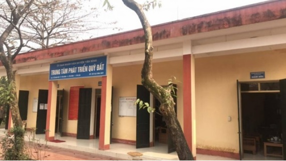 Trung tâm Phát triển quỹ đất huyện Yên Bình, tỉnh Yên Bái (tổ 7, thị trấn Yên Bình).