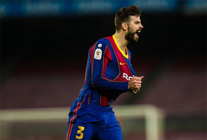 Pique vẫn là nhân tố chủ chốt nơi hàng thủ của Barca