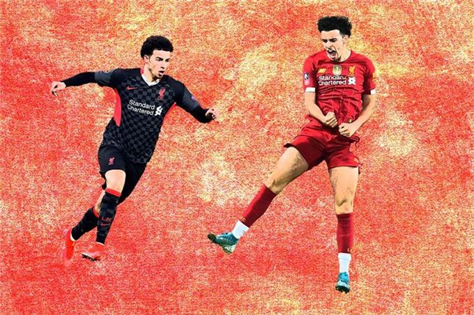 Curtis Jones chơi rất hay ở trận thắng mới nhất của Liverpool