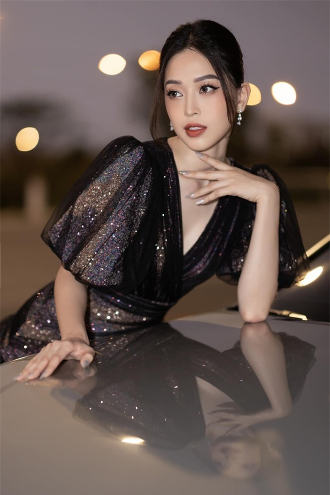 Top 3 Hoa hậu Việt Nam 2018: Tiểu Vy thần thái sang chảnh, Phương Nga-Thúy An ngày càng quyến rũ - ảnh 12