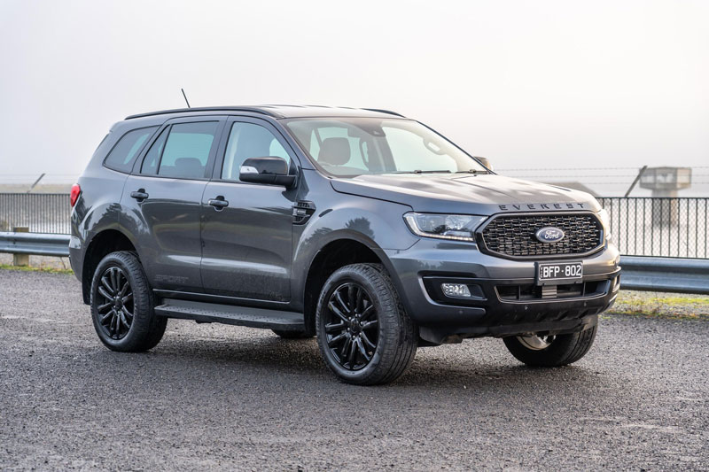 Ford Everest Sport 2021.