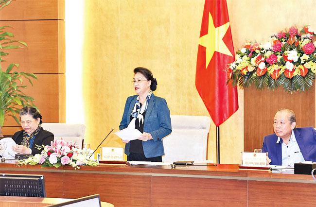 Phiên họp thứ ba Hội đồng Bầu cử quốc gia