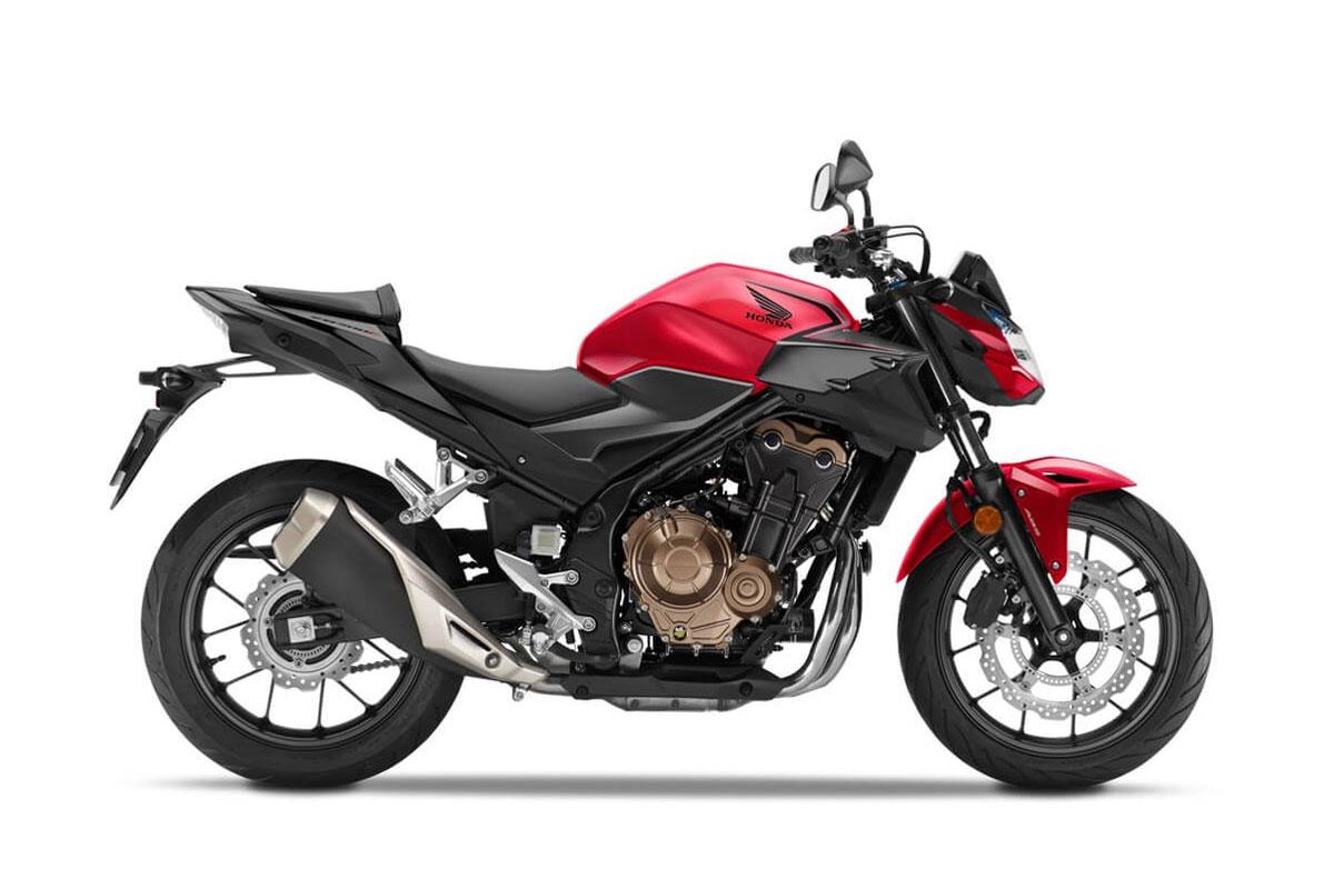 Honda CB500F 2021.