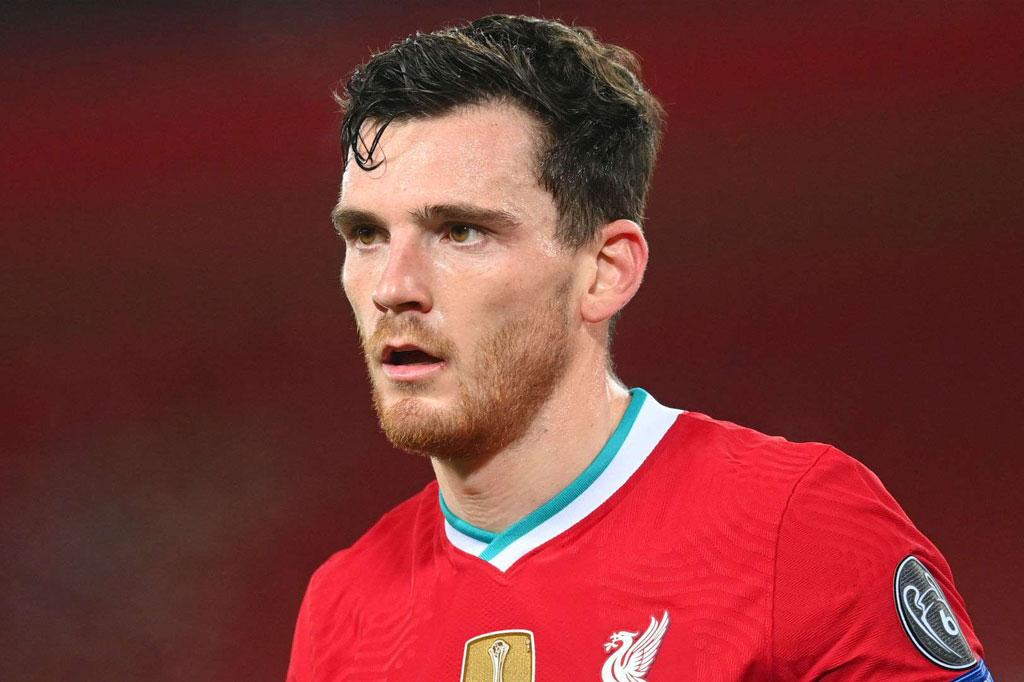 Thua Chelsea, Robertson thất vọng về phong độ của Liverpool