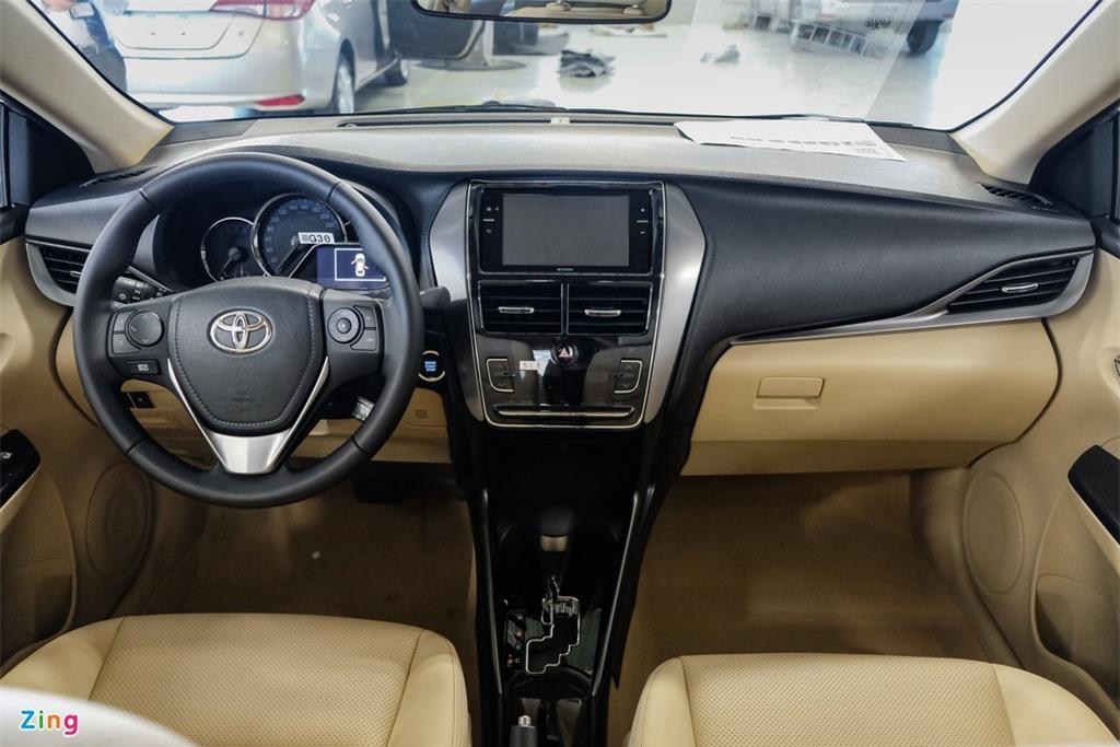 So sanh Toyota Vios G CVT va Hyundai Accent 1.4 AT Dac biet anh 6
