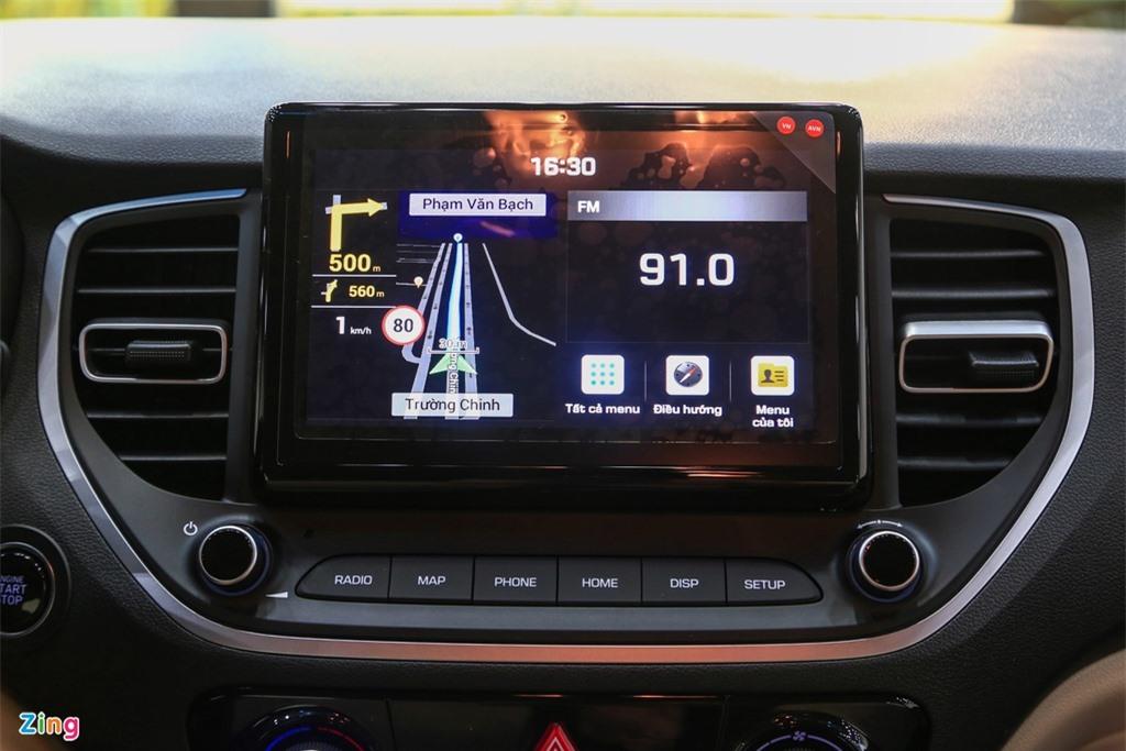 So sanh Toyota Vios G CVT va Hyundai Accent 1.4 AT Dac biet anh 7