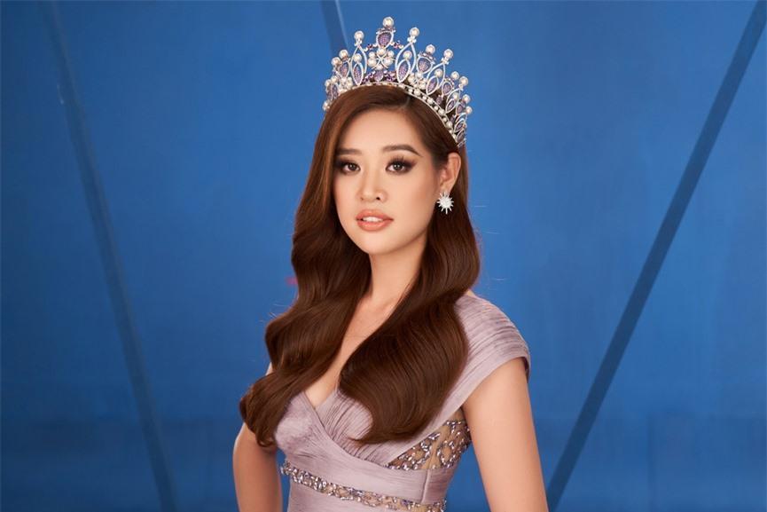 Khánh Vân 'chơi trội' với 5 lay-out nổi bật, quyết tâm 'gây bão' tại Miss Universe 2021  - ảnh 10