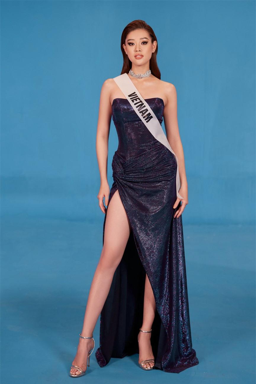 Khánh Vân 'chơi trội' với 5 lay-out nổi bật, quyết tâm 'gây bão' tại Miss Universe 2021  - ảnh 11