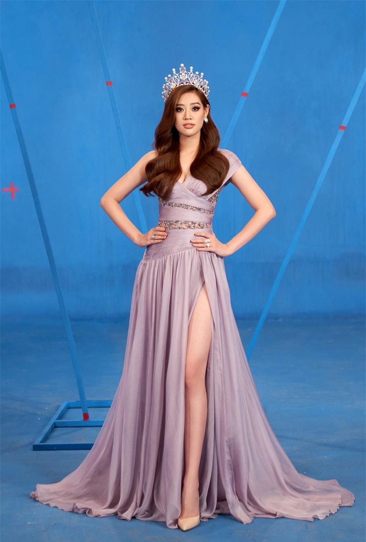 Khánh Vân 'chơi trội' với 5 lay-out nổi bật, quyết tâm 'gây bão' tại Miss Universe 2021  - ảnh 9