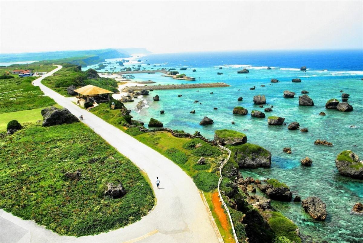 Đảo Okinawa (Nhật Bản). Ảnh: Getty