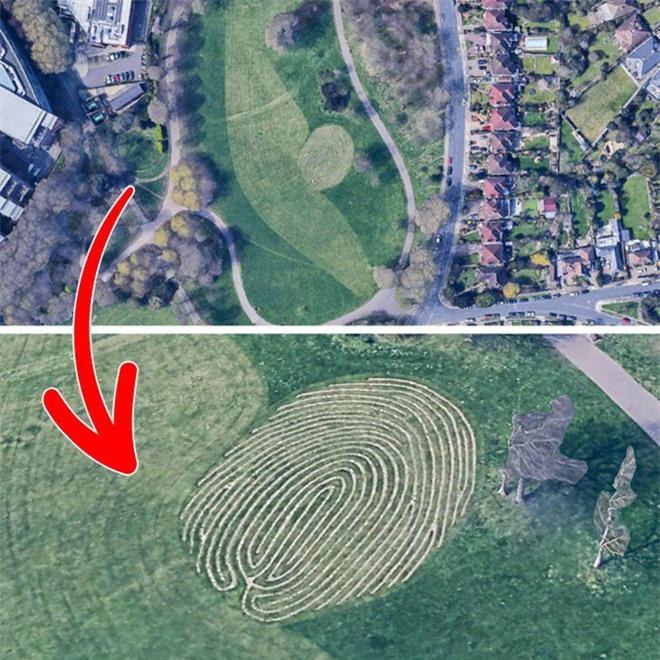 Từ di tích tới hình vẽ bí ẩn của người ngoài hành tinh: Những địa điểm cực dị và bí ẩn chỉ được thế giới biết đến kể từ khi... Google Maps ra đời - Ảnh 4.