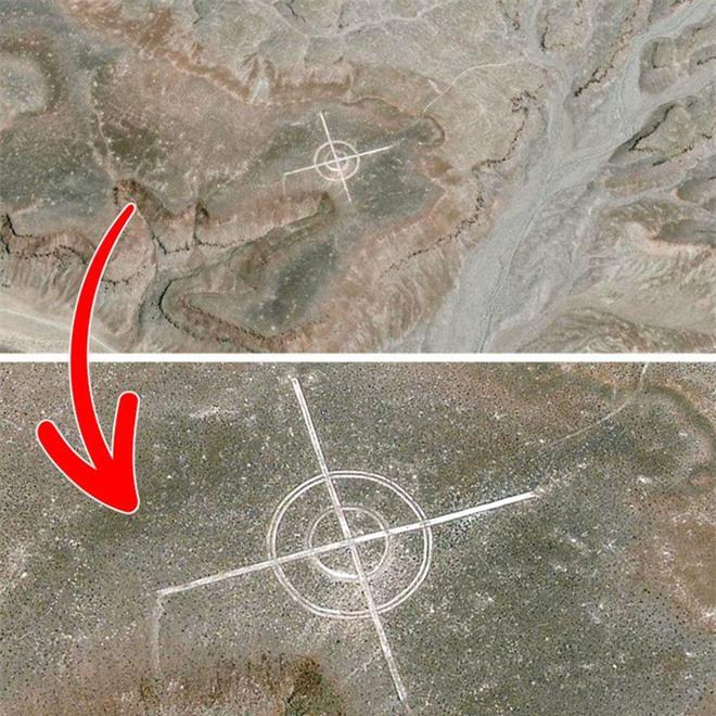 Từ di tích tới hình vẽ bí ẩn của người ngoài hành tinh: Những địa điểm cực dị và bí ẩn chỉ được thế giới biết đến kể từ khi... Google Maps ra đời - Ảnh 8.
