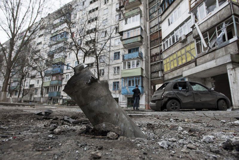 Ukraine bắt đầu tấn công trực diện vào Donetsk