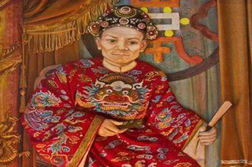 Tả quân Lê Văn Duyệt - thái giám quyền lực nhất triều Nguyễn. Ảnh: Tư liệu.