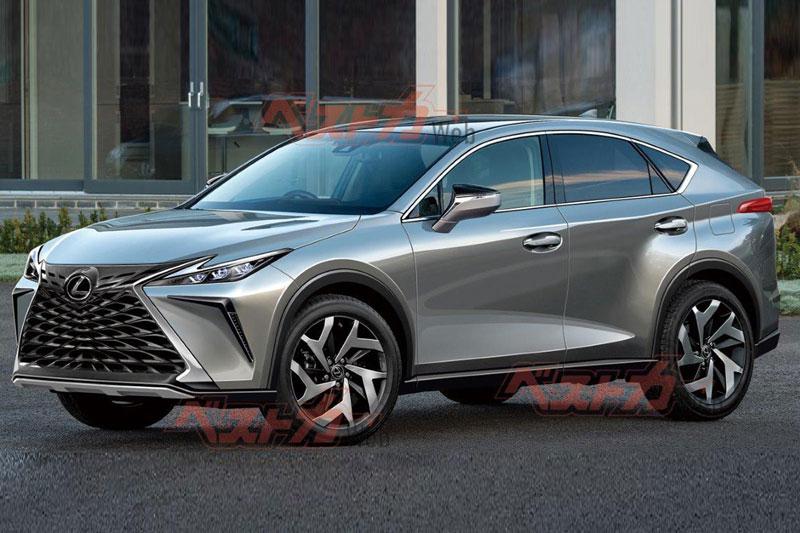 Những hình ảnh đầu tiên của Lexus NX 2022