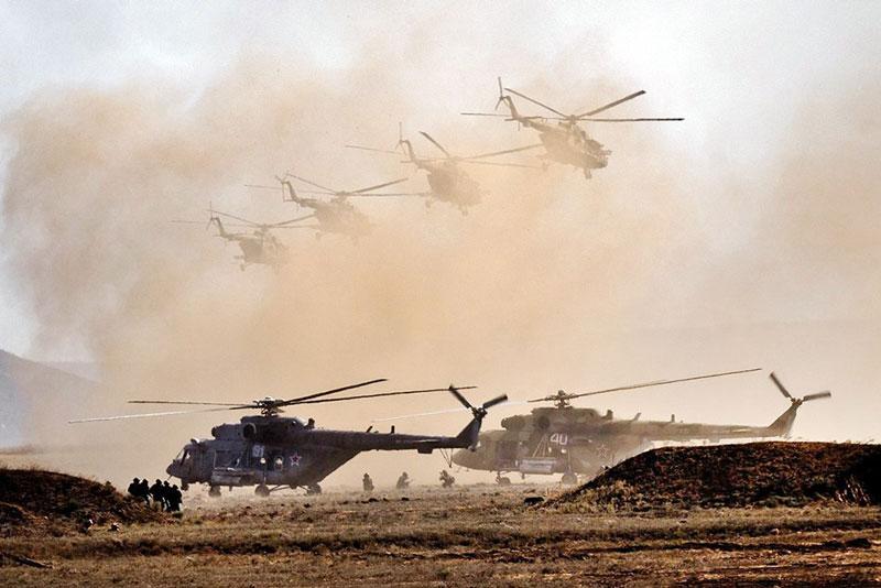 Nga bắt đầu xây dựng căn cứ không quân mới ở miền Trung Syria