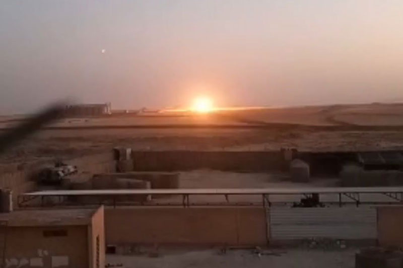 Phiến quân thân Thổ Nhĩ Kỳ nã pháo vào khu vực căn cứ quân sự của Nga