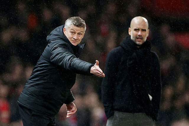 Man United bao giờ mới đuổi kịp Man City?
