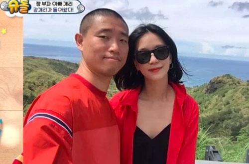 Bà xã Kang Gary được nhận xét có ngoại hình giống Song Ji Hyo?