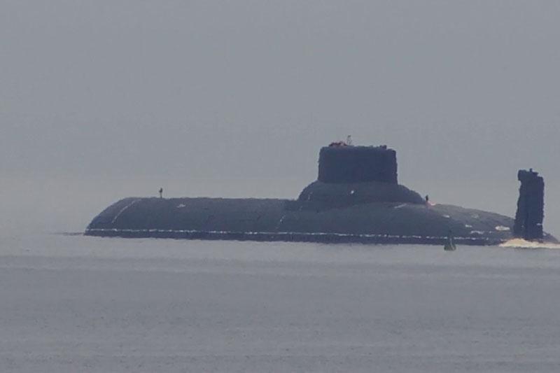 Tàu ngầm hạt nhân Nga Dmitry Donskoy khiến Mỹ khiếp sợ bởi kích thước khổng lồ
