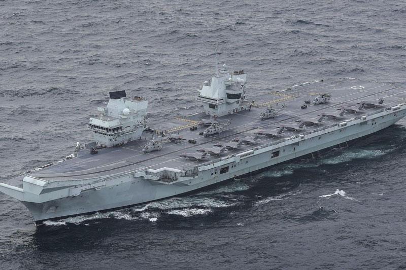 """Nga tấn công điện tử phức tạp, tàu sân bay Anh có khả năng """"biến thành sắt vụn"""""""