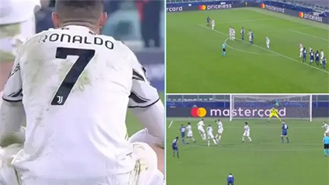 Ronaldo bị chế giễu vì lỗi dẫn đến bàn thua của Juventus