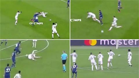 Ronaldo thi đấu vô cùng thất vọng