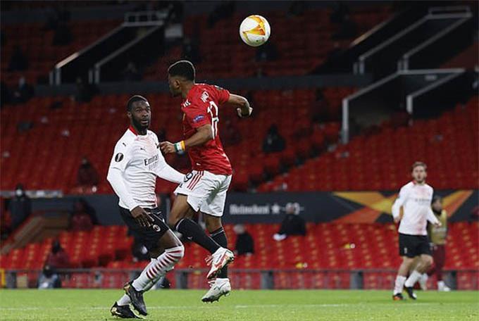 Diallo ghi bàn đẹp nhưng không thể giúp MU chiến thắng