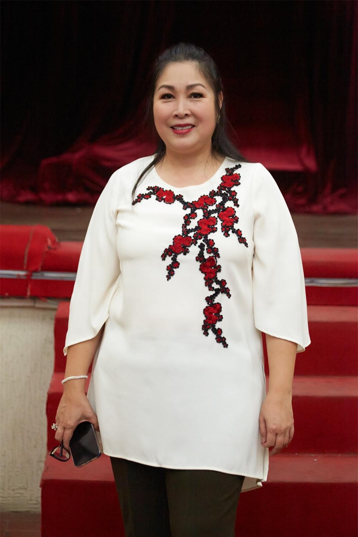 NSND Hồng Vân tâm huyết đào tạo thế hệ diễn viên trẻ - Ảnh 1.