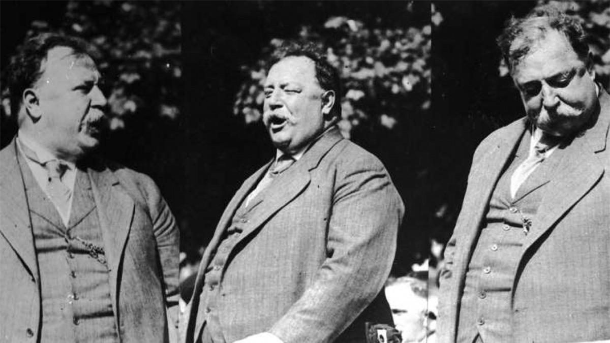 William H. Taft (1857-1930): William H. Taft là tổng thống nặng nhất lịch sử, đồng thời là tổng thống duy nhất trở thành thẩm phán Tòa án Tối cao. Ông cũng là Tổng thống gần đây nhất để ria khi đang đương nhiệm. Kể từ khi ông rời nhiệm sở năm 1913, không tổng thống nào để ria khi đương nhiệm nữa.