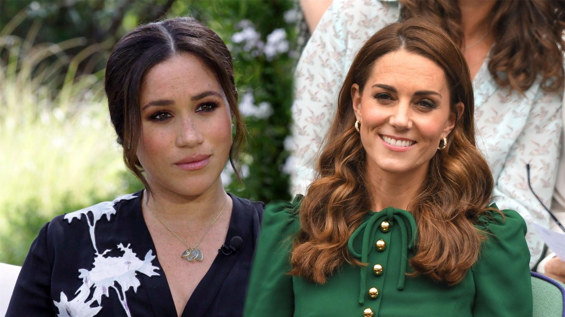 """Phiên bản mới về drama """"rơi nước mắt vì chiếc váy phù dâu"""": Meghan ném bó hoa của Kate vào thùng rác khiến chị dâu bật khóc  - Ảnh 1."""