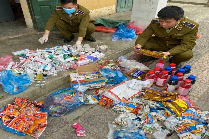 Hơn 100kg thuốc BVTV và Tân dược bị QLTT Hà Giang bắt giữ xử lý
