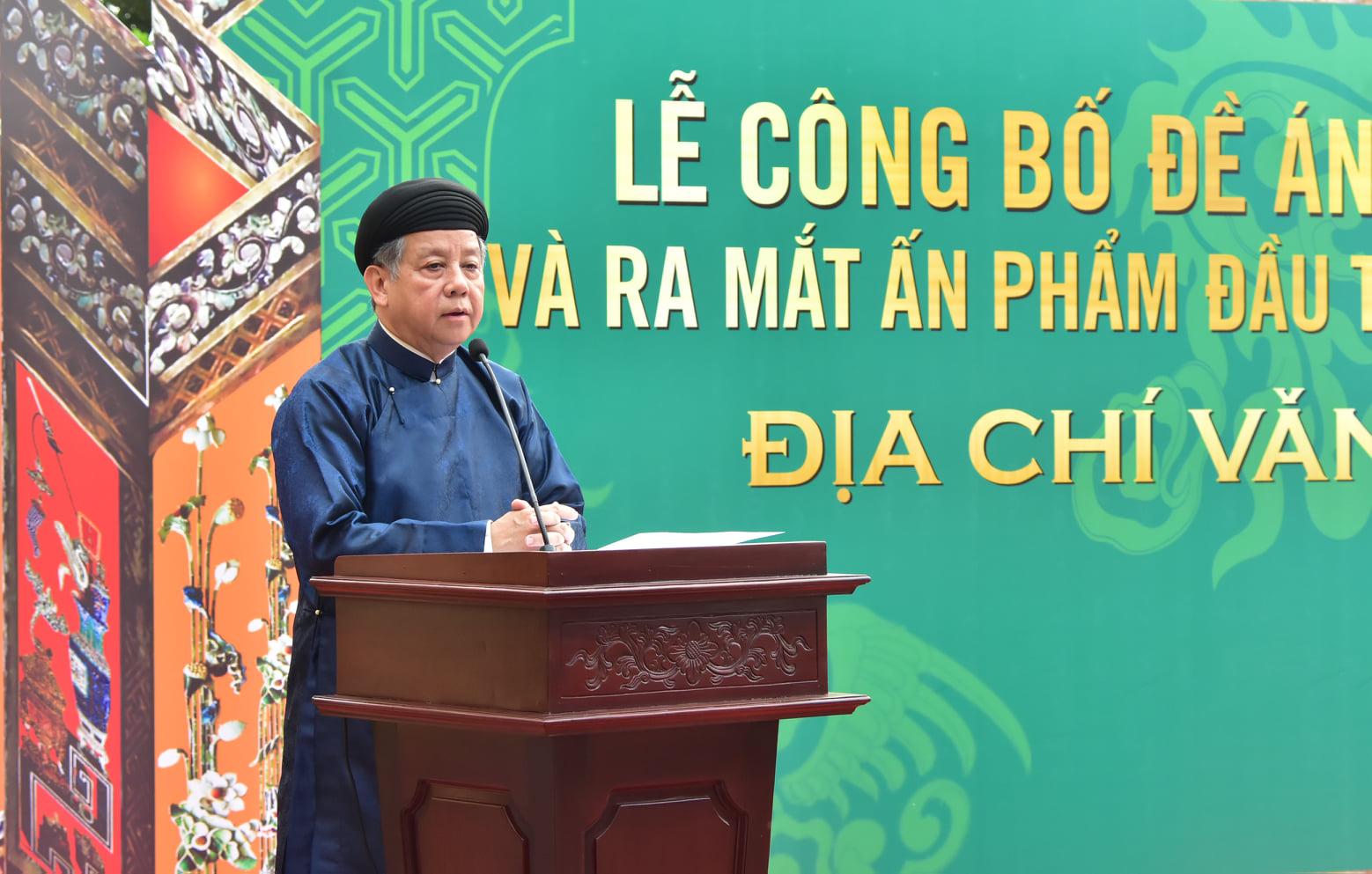 Chủ tịch UBND tỉnh Thừa Thiên Huế Phan Ngọc Thọ phát biểu tại buổi lễ.