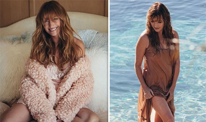 'Bond girl' Jane Seymour tuổi 70 trẻ đẹp ngỡ ngàng ở biển với áo tắm  - ảnh 11