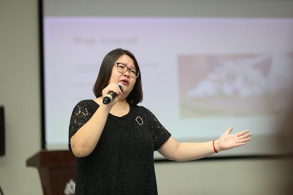 Kay Nguyễn, Giảng viên khóa học Show Don't Tell khẳng định đây sẽ là khóa học mà các học viên có thể học hỏi lẫn nhau và kết nối, tạo nên một cộng đồng sáng tạo.