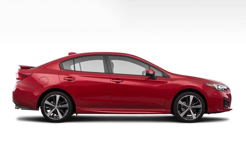 8. Subaru Impreza Sedan (giá khởi điểm: 18.695 USD).