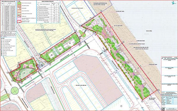Quy hoạch tổng mặt bằng công trình Quảng trường kết hợp bãi đậu xe cuối tuyến đường Nguyễn Tất Thành