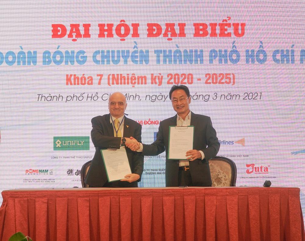 Vietravel Airlines tài trợ cho Liên đoàn bóng chuyền TP.HCM 200 vé khứ hồi mỗi năm.