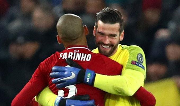 Alisson và Fabinho là những bản hợp đồng thành công của Liverpool ở mùa Hè năm 2018