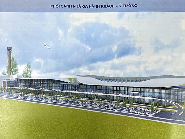 Phối cảnh ý tưởng đề xuất của Tư vấn AEC đối với sân bay quốc tế Đà Nẵng