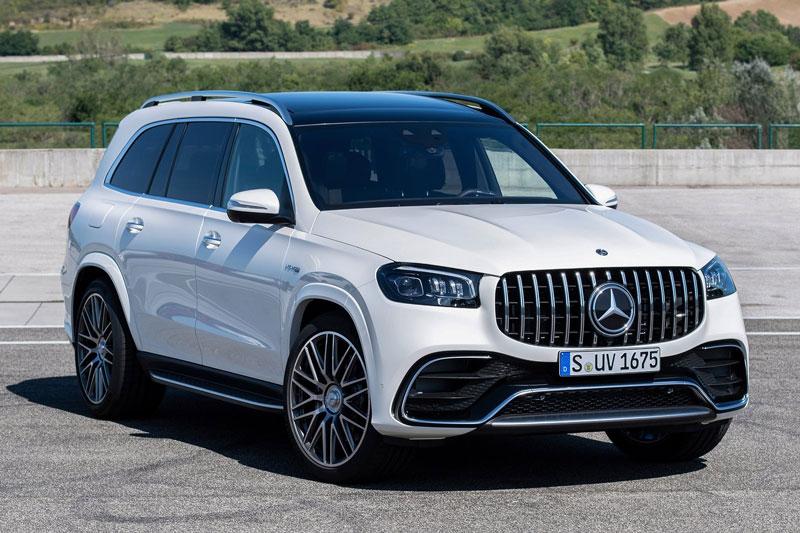 4. Mercedes-Benz GLS.