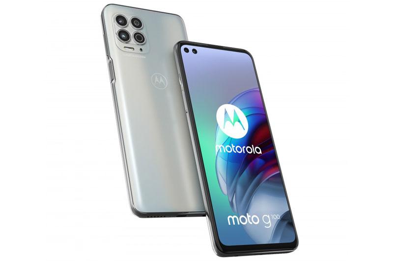 Motorola Moto G100 5G.